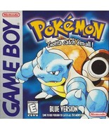 Pokemon Blue Version Gameboy Great Condition Fast Shipping - $49.93