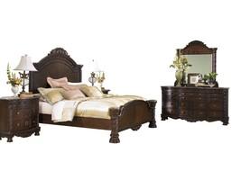 Ashley North Shore 6PC Bedroom Set Cal King Panel - Brown - $5,150.19