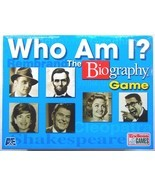 Who Am I? The Biography Board Game NEW By Endless Games - $23.99