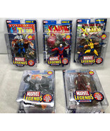 Marvel Legends Series III (3) Set of 5 + Daredevil Figure - Toy Biz 2002 FS - $140.28