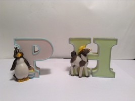 Child to Cherish Hanging Wall Letters w Animals  - $14.85