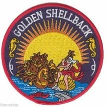 Navy Usn Shellback Insignia Ribbon Medal Patch - $23.74