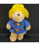 """Vintage Paddington Bear Darkest Peru To London England 10"""" Plush Eden Toys - $11.87"""