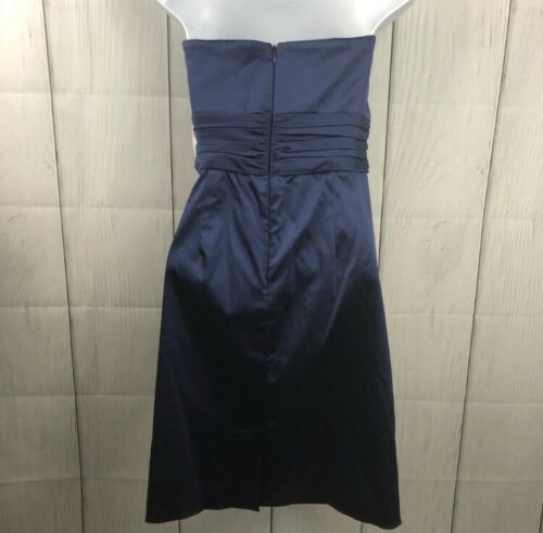 NWT Guilia Navy strapless cocktail formal dress