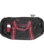 Victorias Secret Packable Weekender Duffle Bag Black And Pink NWT - $49.49
