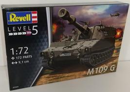 Revell 1/72 M109 G Bundeswehr Plastic Model Kit - $13.00