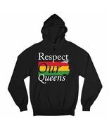 Respect Our Queens Sweatshirt Black Girl Magic African American Women Ho... - $25.45+