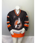 Nanaimo Clippers Jersey (VTG) - Away Black # 20 Moser - Men's Small - $79.00