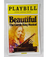 Playbill Beautiful The Carol King Musical Steph... - $9.30