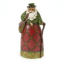 Jim Shore Heartwood Creek Christmas Shona Dhuit Irish Santa Figurine - $43.00