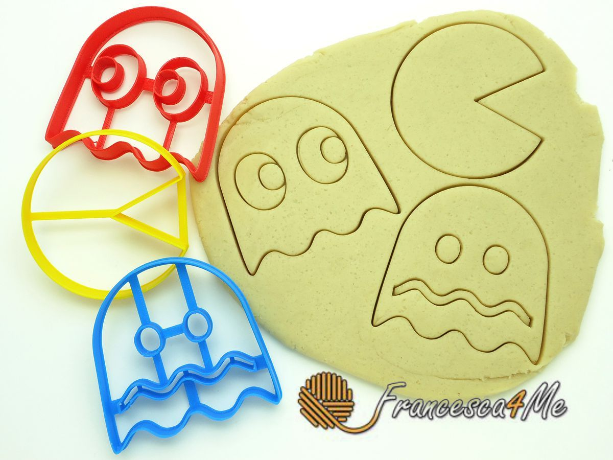 "3"" Pac Man Set of 3 Cookie Cutters for sale  USA"