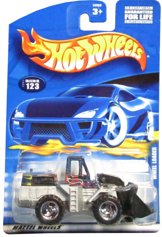 #2001-123 Wheel Loader Collectible Collector Car Mattel Hot Wheels - $2.00