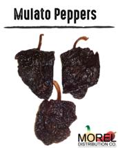 Dried Mulato Ancho Pepper (Chile Mulato) // Weights: 4 OZ, 8 OZ, 12 OZ, ... - $10.00+
