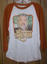 Kenny Rogers Concert Jersey Tour T Shirt Vintage 1983 - $164.99