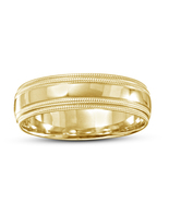 Mens Yellow Gold Finish Wedding Anniversary Ring Band 925 Sterling Solid... - $62.99