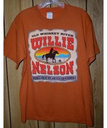 Willie Nelson Concert Tour T Shirt 2006 Old Whiskey River - $64.99