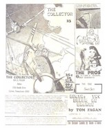 THE COLLECTOR #23 vintage flyer for Bill G Wilson's fanzine (circa 1971) - $9.89