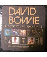 David Bowie Promo 10 Coaster Set Five Years Rar... - $35.00