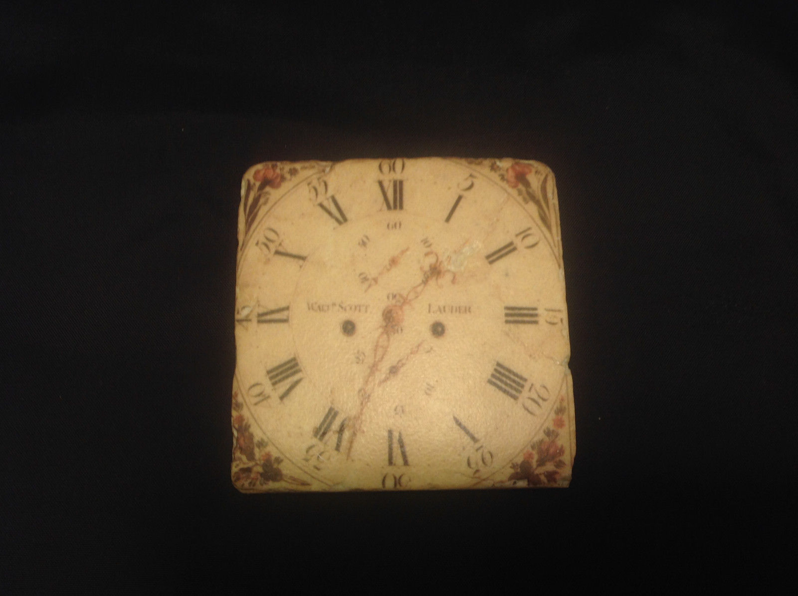 Anderson West Haven Old World Clock Coaster Set of Four