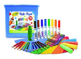 Crayola 75 Piece Art Tub of Fun Toy - $18.61