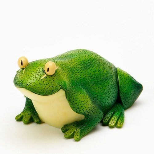 Home Grown  Green Lime Frog  Play with your Food Sculpted Figurine