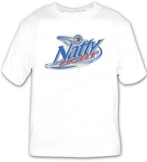 Natty Light Natural Light Beer T Shirt S M L XL 2XL 3XL 4XL 5XL