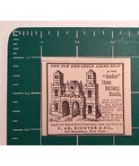 1889 F. AD. Richter & Co. Stone Building Blocks Advertisement New York - $22.00