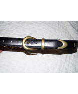 Amberhill Leather Ladies Belt - Size 30 - $29.00