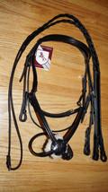 Bobby's Tack BLACK Figure 8 Bridle w/ Reins -COB Size - $158.00