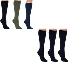 Legacy Graduated Compression Trouser Socks Set of 3  A269482 - $8.80+