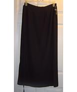Women's Size 14 Skirt Gantos Sheer Wrap Around Full Length Skirt  NWT - $24.99