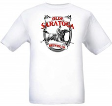 Olde Saratoga Brewing Co. Beer T Shirt S M L XL... - $16.99 - $19.99