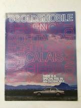 1986 Oldsmobile Brochure flyer Toronado Cutlass Ciera 442 Calais Firenza... - $14.99