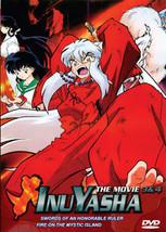 Inuyasha Movie 3 + 4 (1 disc)