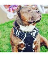 Arnés de perro grande Sin tirar Ajustable Mascota Reflexiva Formación Ch... - $21.09
