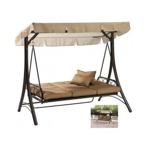 Hammock swing bed porch canopy sofa swinging outdoor patio for Best deals on outdoor patio furniture