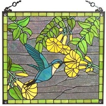 Stained Glass Window Panel Sun Catcher Tiffany ... - $189.95