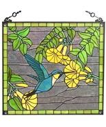 Stained Glass Window Panel Sun Catcher Tiffany ... - $189.95