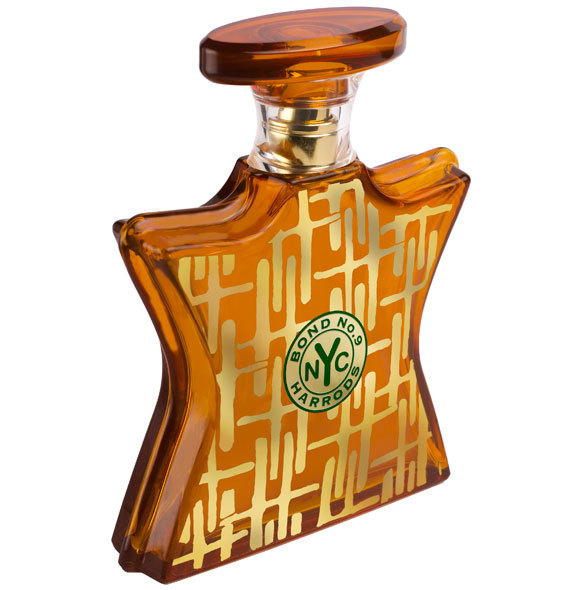 HARRODS AMBER by BOND No.9 5ml TRAVEL SPRAY Perfume OUD PEPPER BENZOIN