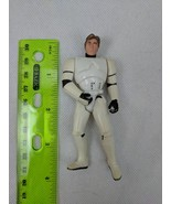 "Star Wars Han Solo Stormtrooper Disguise 3.75"" Action Figure Hasbro - $4.00"