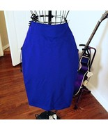 Periwinkle Knee Length Woven Skirt Small - $5.00