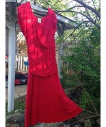 Red Ballerina Surplice Dress - SHABBY APPLE. - £21.37 GBP