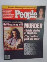 People Weekly Korean Air Lines Tragedy Brooke Shields Flight 007 1983 Ma... - $9.49