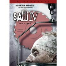 Saw IV Four DVD Movie Serial Killer Edition Director's Cut Special Survival - $9.49