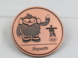 Vancouver 2010 Winter Olympic Games Pin - Saputo Foods Sponsor Pin -Bron... - $15.00