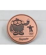 Vancouver 2010 Winter Olympic Games Pin - Saputo Foods Sponsor Pin -Bron... - $15.00