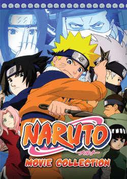 Naruto Movies Collection 1-3 (3 discs)