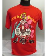 Calgary Stampeders Shirt (VTG) - Nescafe Promo Piece Rare - Men's Large - $95.00
