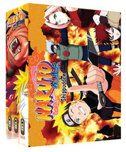 Naruto Shippudden TV Part 10-12 Limited Edition (9 discs)