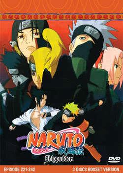 Naruto Shippudden TV Part 10 (3 discs)
